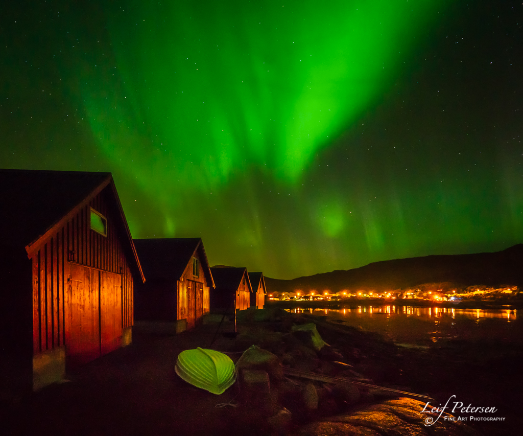 Aurora Over Stamsund