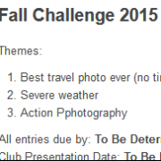 Fall Challenge Results