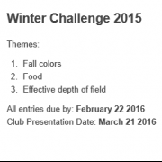 Winter Challenge Results Night