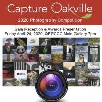 CANCELLED - Capture Oakville 2020 Photo Exhibition & Awards Gala