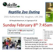 Reptilia Zoo - February 8th 2015