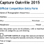 Capture Oakville 2015 Submission Deadline