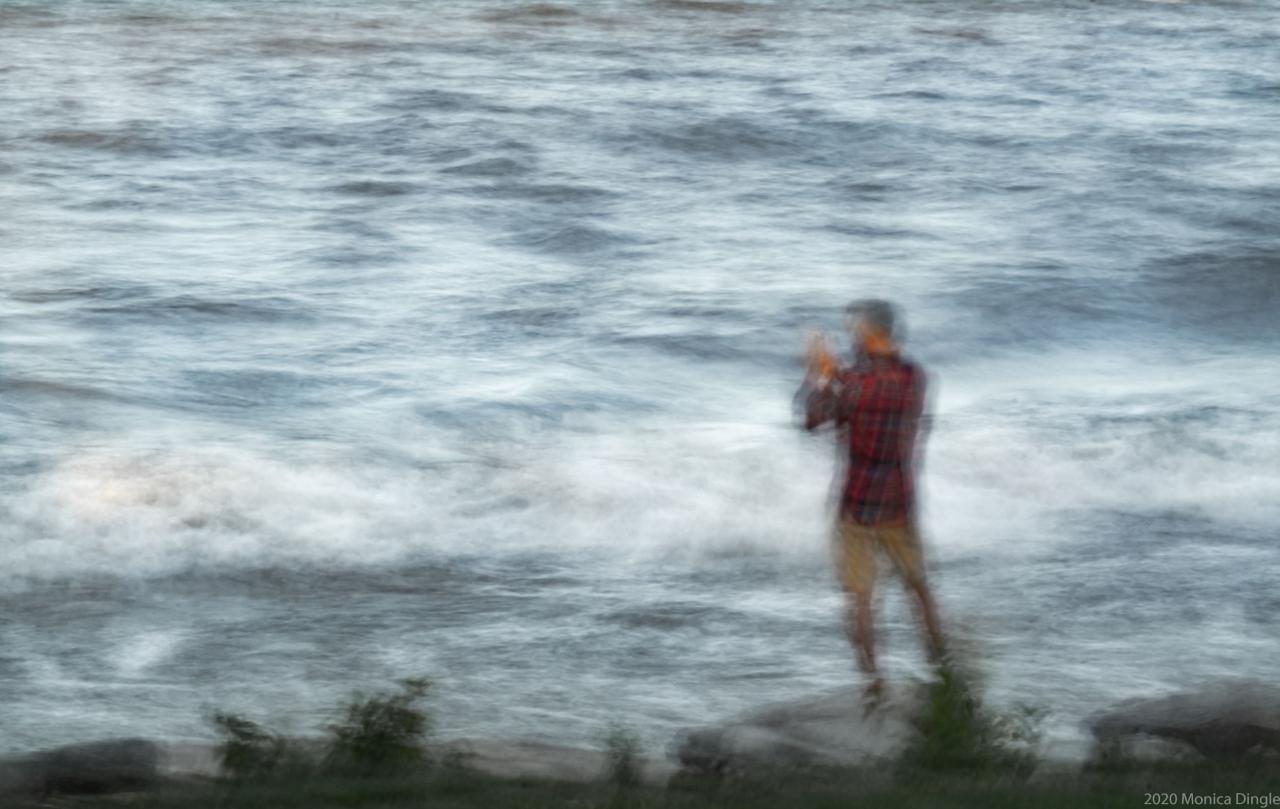 ICM intentional camera movement 2020-11-29 - Coronation park beach