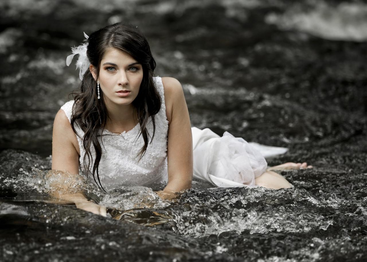 comfortable wet bride