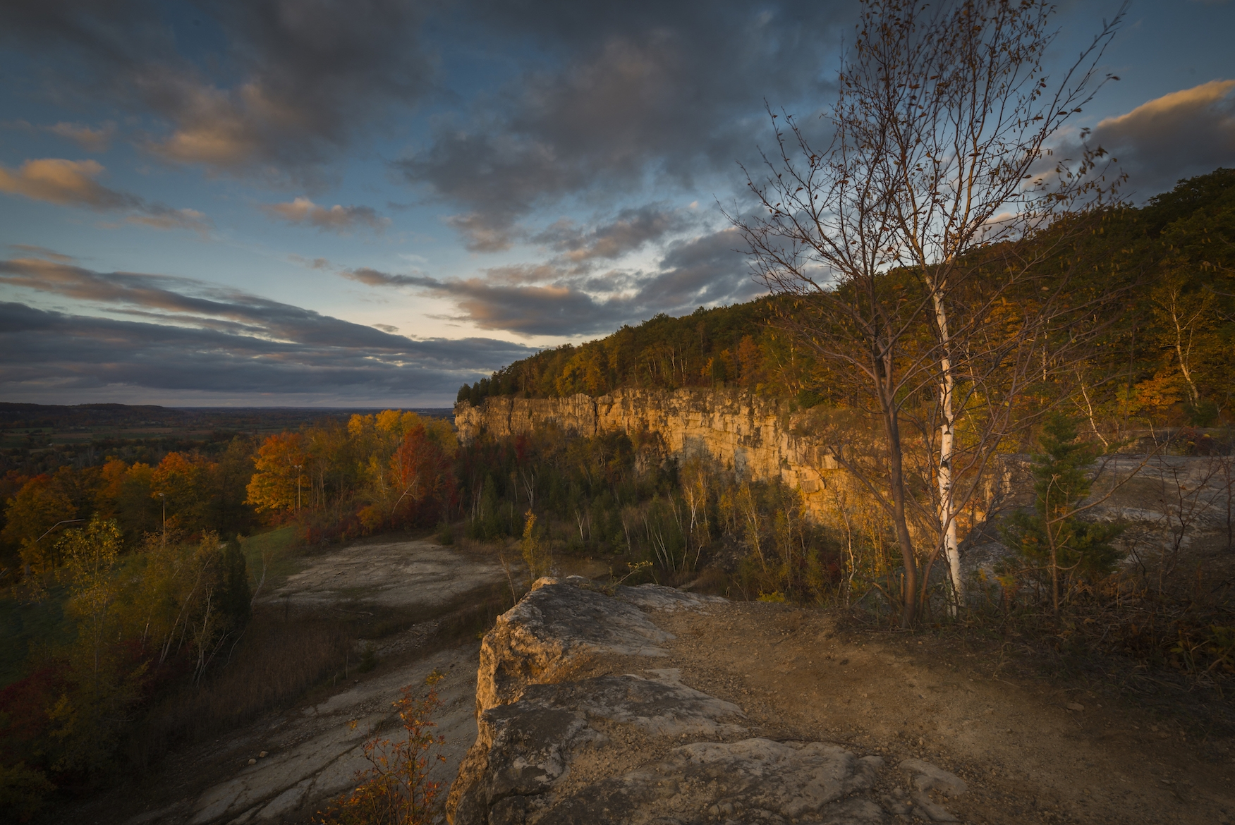 The Escarpment in Fall