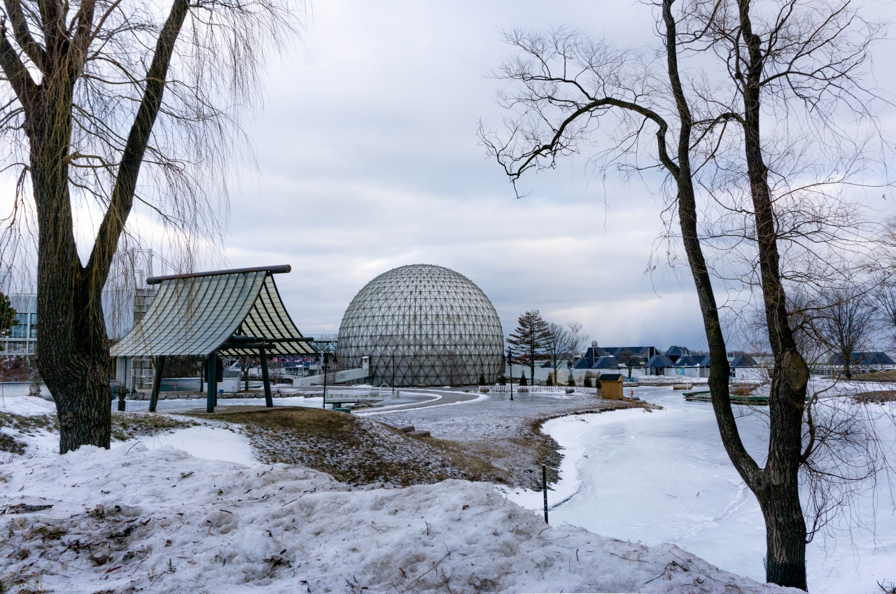 Ontario Place light festival outing Feb. 9, 2019 2019-02-13
