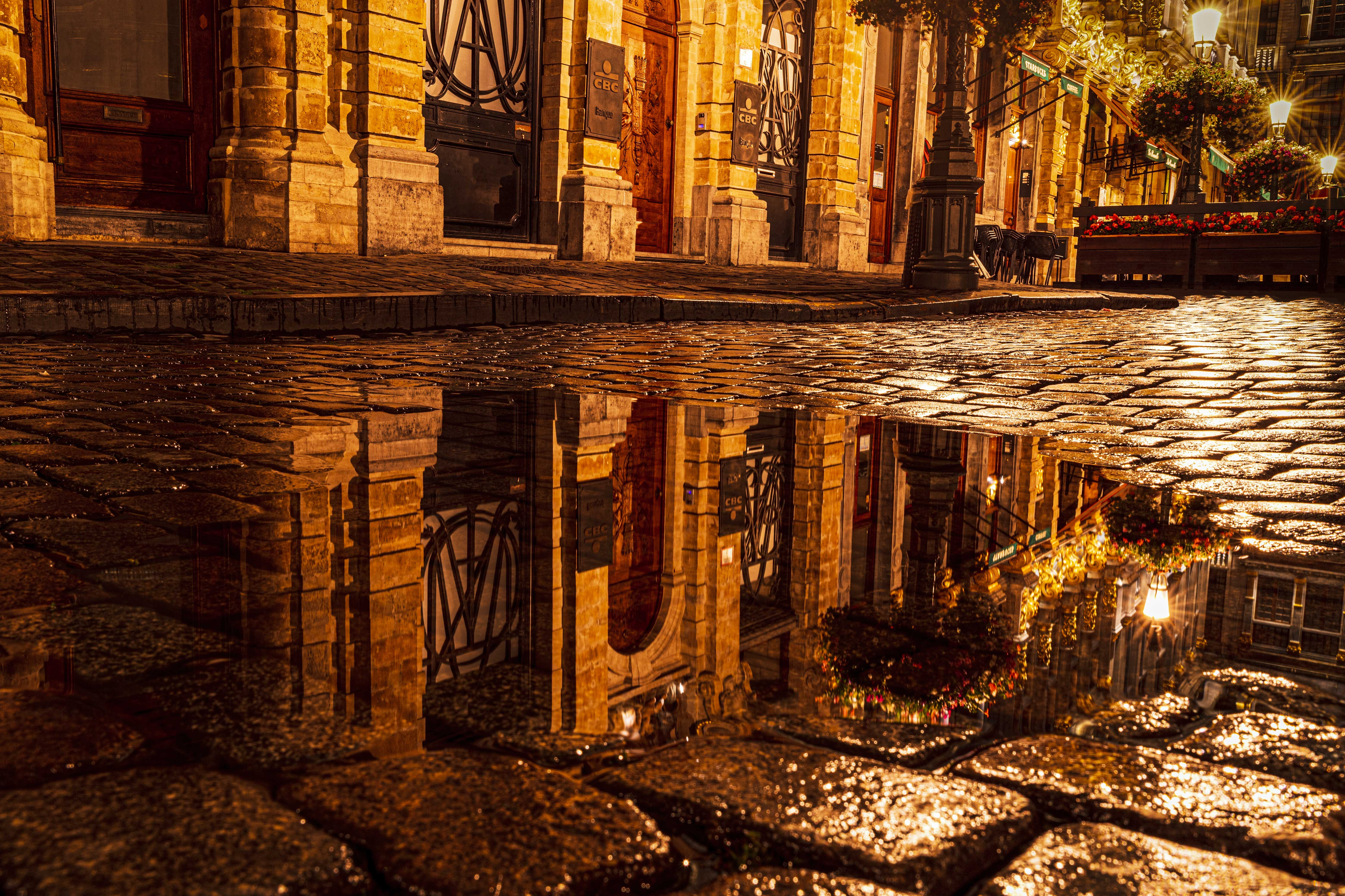 Brussles Reflection by Michael Osborne