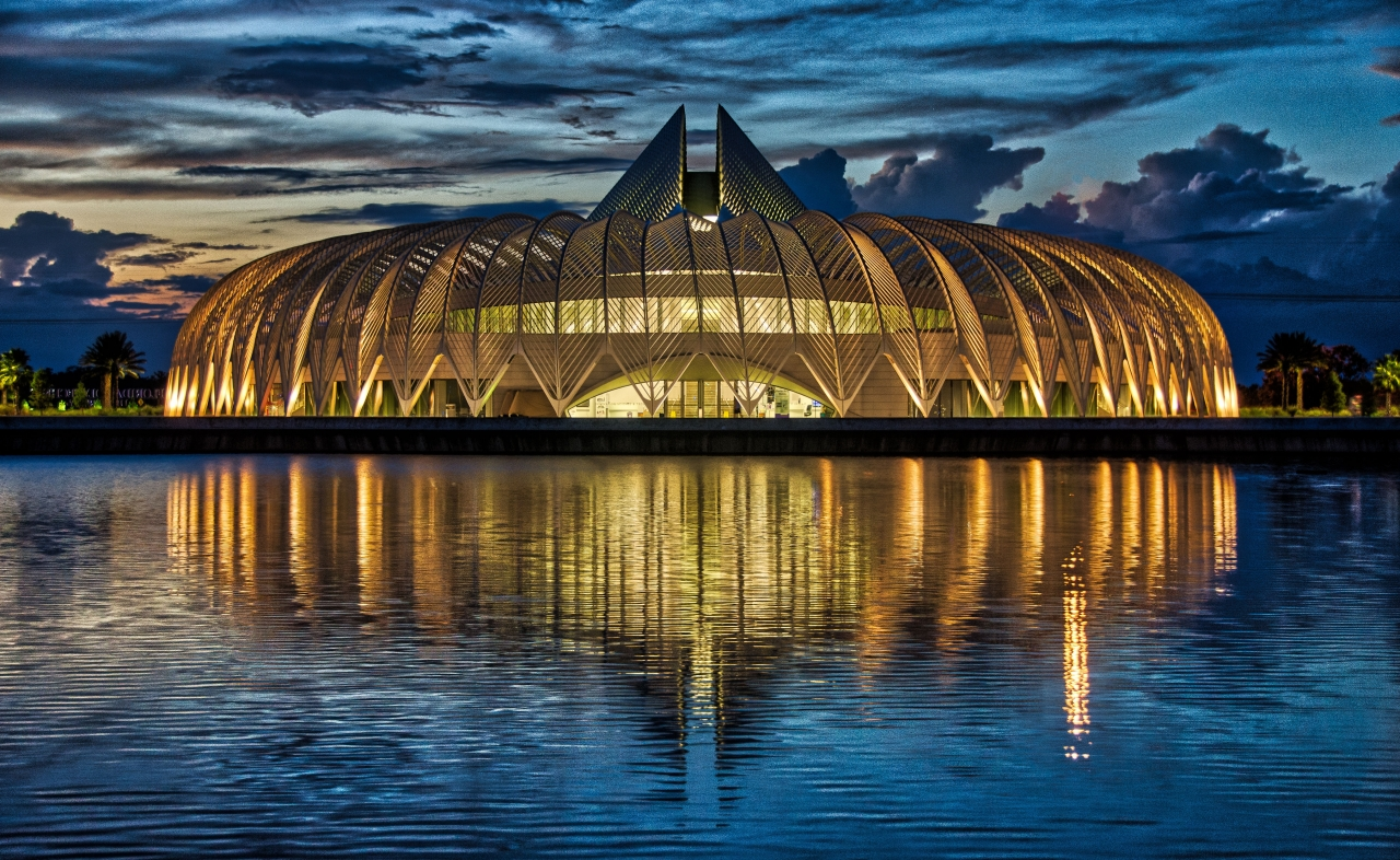 Calatrava Sunset by Kyle Whatley - Runner Up - Night Photography 2019 Fall Challenge