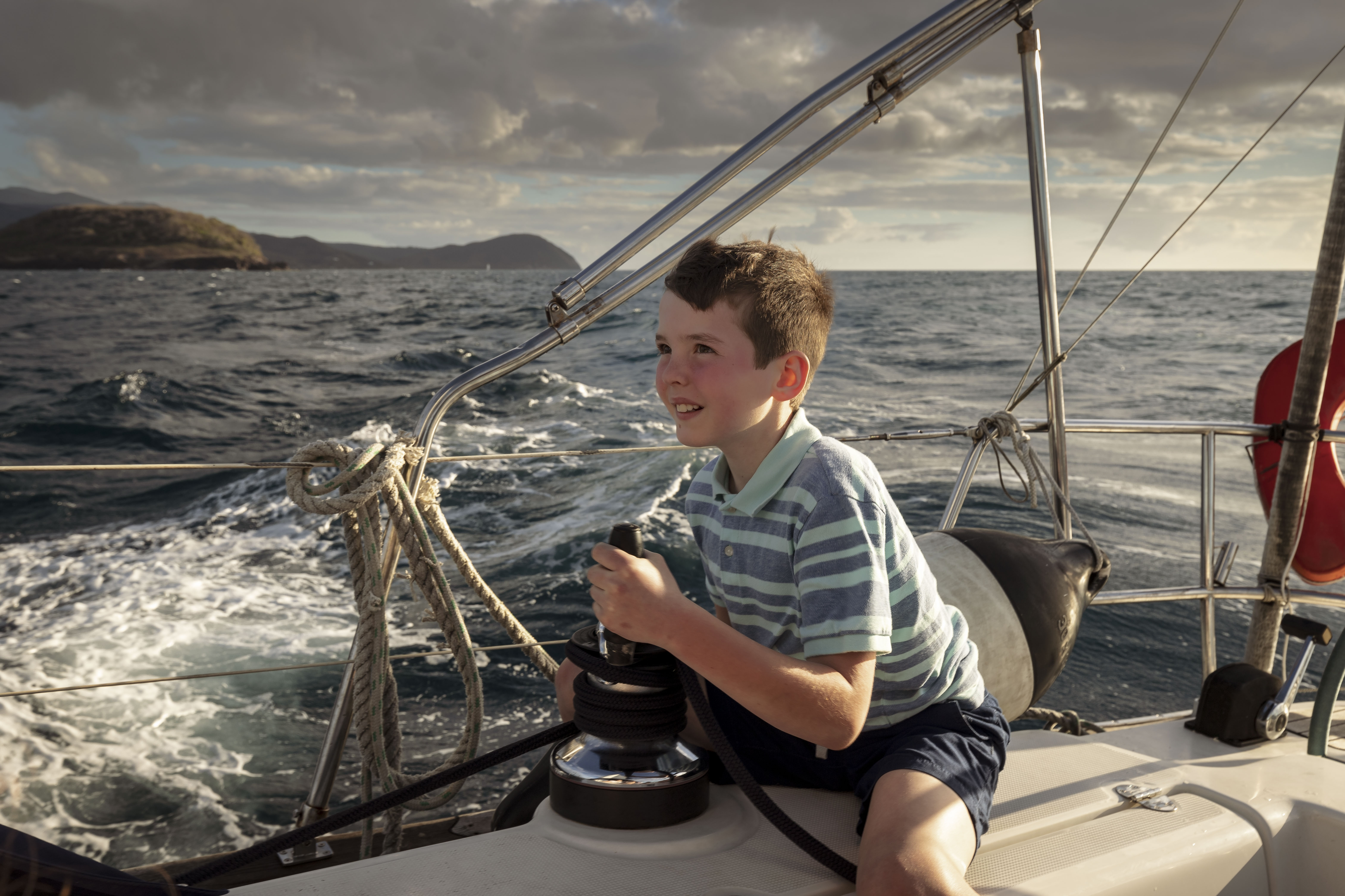 Young Sailor by Michael Osborne